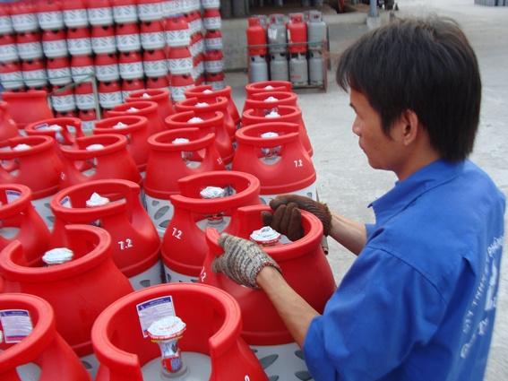 đại lý phân phối Gas